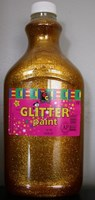 Glitter Paint GOLD (2 litre)
