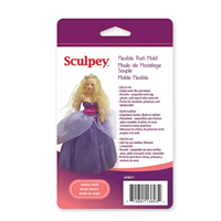 Sculpey® Push Mold- Woman Mold - a press mould for use with clay.