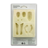 Sculpey® Push Mold-Infant Doll - a press mould for use with clay.