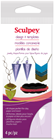 Sculpey Polymer Clay Design It Templates - Jewellery Shapes