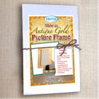 Gold Leaf Plaster Picture Frame Kit