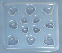 Hearts Resin Jewellery Mould    RM 1410