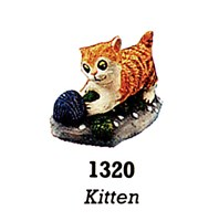 Kitten with Wool 1320