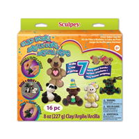 Sculpey Polymer Clay Bears Activity Kit