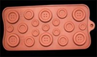 B0097 Soap Silicone Mould - Assorted Buttons