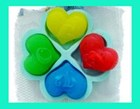 Small L.O.V.E Hearts Soap Mould RO238