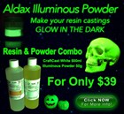 Aldax Craft Cast & Illuminous Powder Halloween Bundle