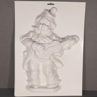 Mould 51805- Clown with Guitar