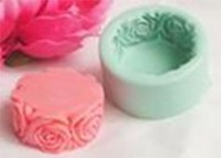 R0140 Soap Silicone Mould - Rose