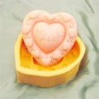 R0375 - Heart Classic Silicone Soap Mould