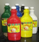 Acrylic Paint Set of six 2 litre bottles