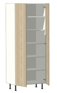 900mm double door pantry cabinet Pantry 800mm