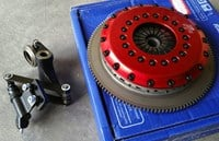 Subaru WRX 6-speed STR2CD twin-plate clutch by OS Giken