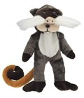 Beanie Kid Merv the Emperor Tamarin Bear
