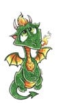 Baby Green Dragon