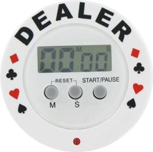 Poker Tournament Dealer Timer Button