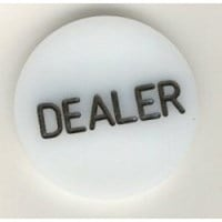 10 Dealer Buttons with FREE Shipping