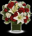 T596-9A  Enchanted Winter Bouquet