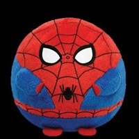 TY Beanie Ballz - SPIDERMAN the SuperHero
