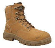 55-332 Oliver AT55 150mm Lace Up Safety Boot Wheat