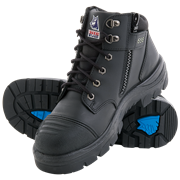 STEEL BLUE PARKES ZIP SCUFF CAP SAFETY BOOT