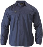 Bisley Cool Lightweight Drill Shirt Long Sleeve