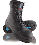 Steel Blue Portland Lace-Up Safety Boots