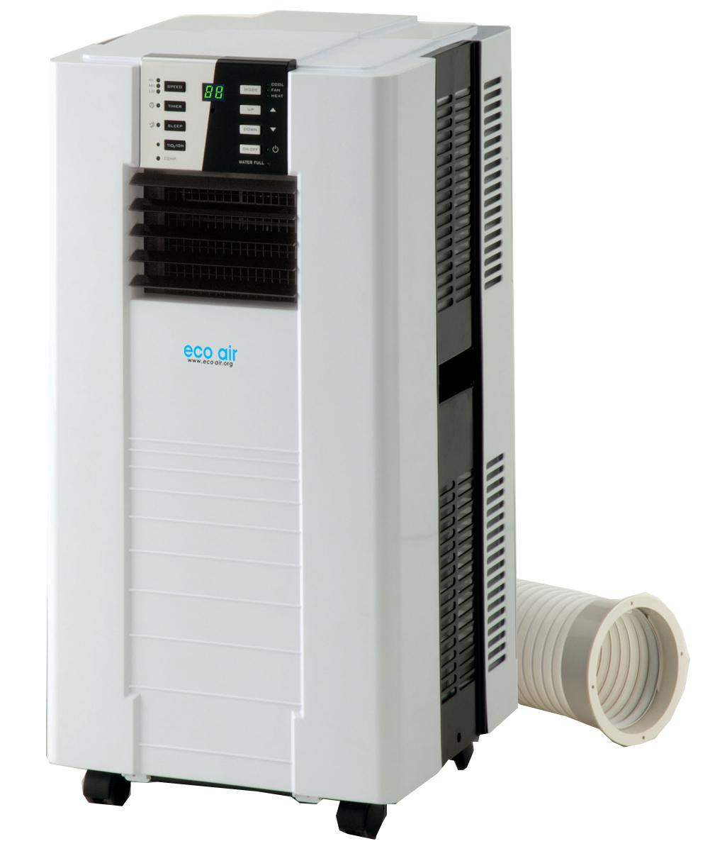 Portable Heat And Air Units : Eco air p kw btu portable conditioning