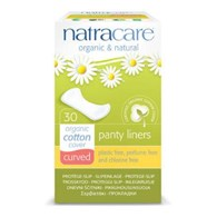 Natracare Curved Panty Liners 30 Pack