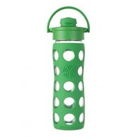 Lifefactory Reusable Glass Bottle with Flip Cap 475mL