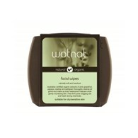 Wotnot Facial Wipes for Oily + Sensitive Skin 20 Pack with Travel Case