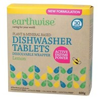 Earthwise Dishwasher Tablets Lemon