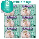 Bambo Nature Disposable Nappies - Mini - Size 2 - Carton of 180 - RRP $106.95 Our Price $103.95
