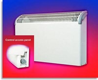 Consort Claudgen CN1LSTW 1kw LST fan heater for carehomes