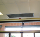 Dimplex DAB15ER High Power 18kW Recessed 1.5m Electric Air Curtain from the DAB Range