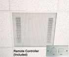 Consort Claudgen HE7230RF 3kw Recessed Fit Downflow Ceiling Heater