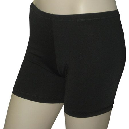 BLACK BOY LEG SWIM SHORTS - SIZE 4