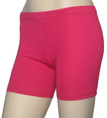SALE - POP PINK BOY LEG SWIM SHORTS