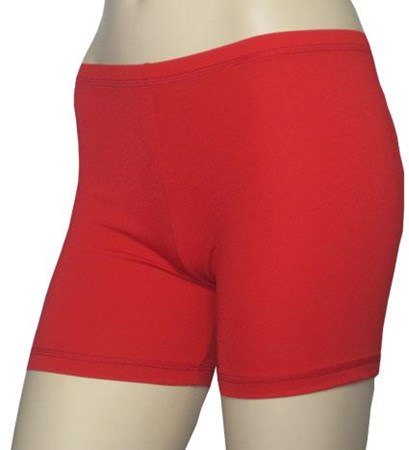 SALE - RED BOY LEG SWIM SHORTS