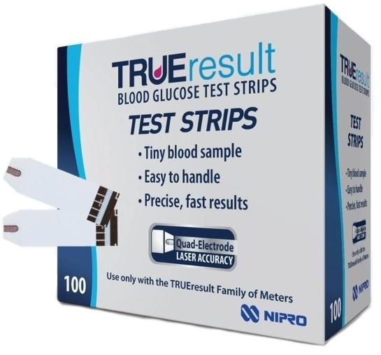 test instructions glucose strips