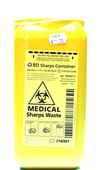 BD Sharps Collector 1.4L Temporay Closure Unit