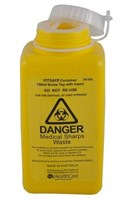 ASP 750mL Screw Top Sharps Container
