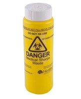 ASP 250mL Screw-top Sharps Container