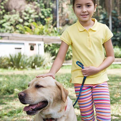 When Should Children Be Allowed To Walk Dogs Alone?