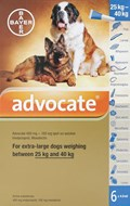 Advocate Dogs Over 55lbs (25kg) - 6 Pack