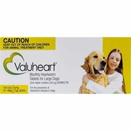 Valuheart Gold Dogs 46-88lbs (21-40kg) - 12 Chewables