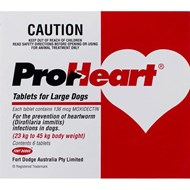 Proheart Red Dogs 50-99lbs (23-45kg) - 6 Tablets