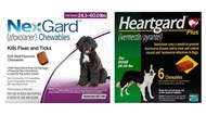 NexGard & Heartgard Combo Dogs 24-60 lbs (10-25kg) - 6 pack