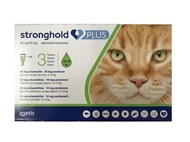 Stronghold Plus for Large Cats 11 lbs to 22 lbs (5kg to 10 kg) - 3 Pack