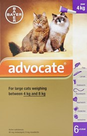 Advantage Multi (Advocate) Cats Over 8.8lbs (4kg) - 6 Pack